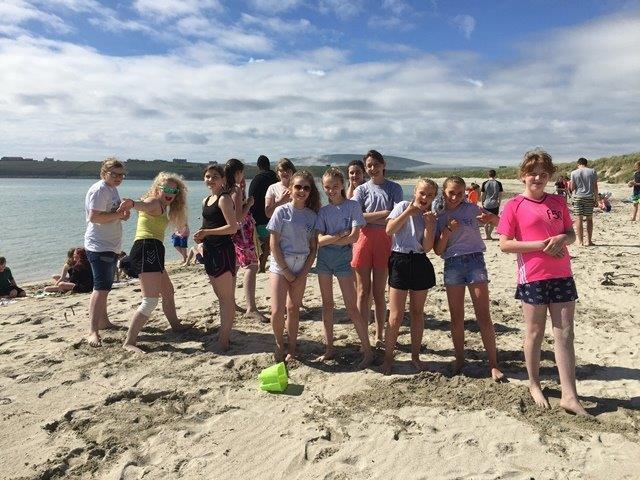 Shetland camp - Beach activities