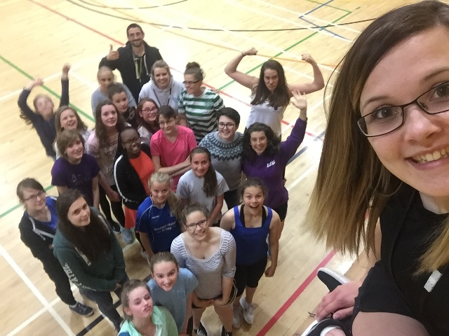 Young people at Shetland Camp
